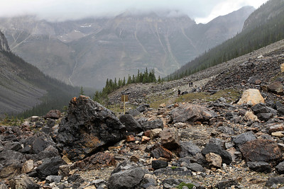 End of Trail - Stanley Glacier