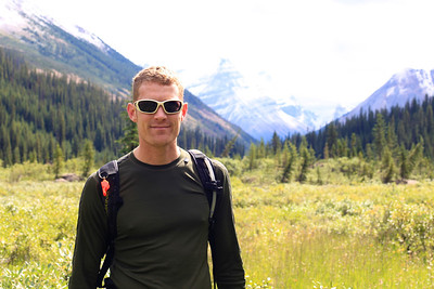 Handsome Hiker in Niles Meadows