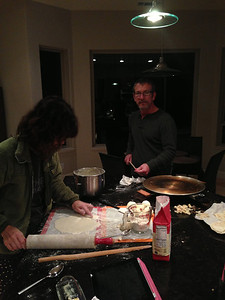 2012-12-06 Making lefse