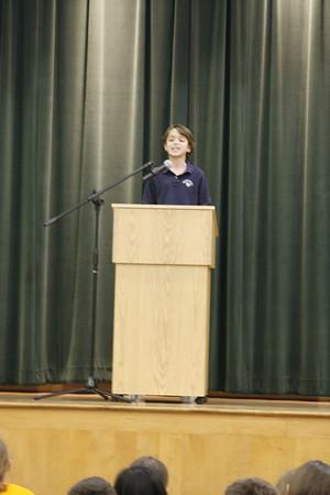 """Gr. 4 - 6 """"Speech Contest"""""""