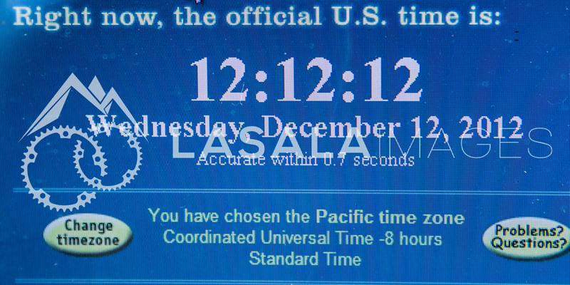 12:12;12 on 12/12/12  December 12, 2012