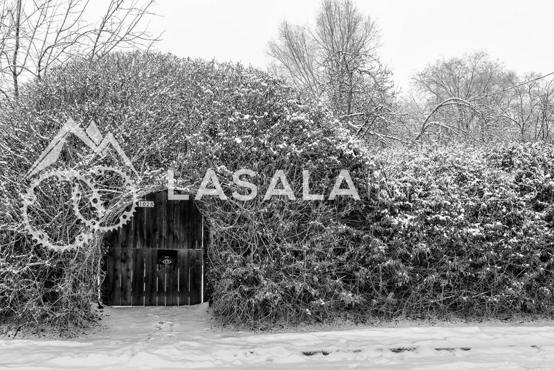 Snowy Hobbit House  December 30, 2012