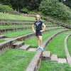 Syl in Washington Park ampitheater