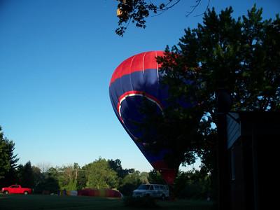 2012 Balloon Fest in our Backyard