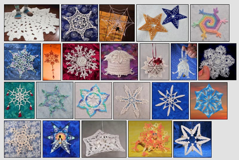 2012 snowflake pattern booklet.