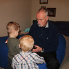 Grandpa helps Owen and Eli investigate Grandma's home.