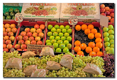 Passed a Fruit Stall in a Melbourne street, Victoria, Australia and couldn't resist a photo.  Photographed February 2012 - © 2012 Lesley Bray Photography - All Rights Reserved.
