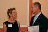 Catherine Marshall and Dean Bill McDiarmid.