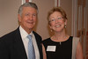 Bob Eaves with one of the School of Education's two Eaves Professors, Catherine Marshall.