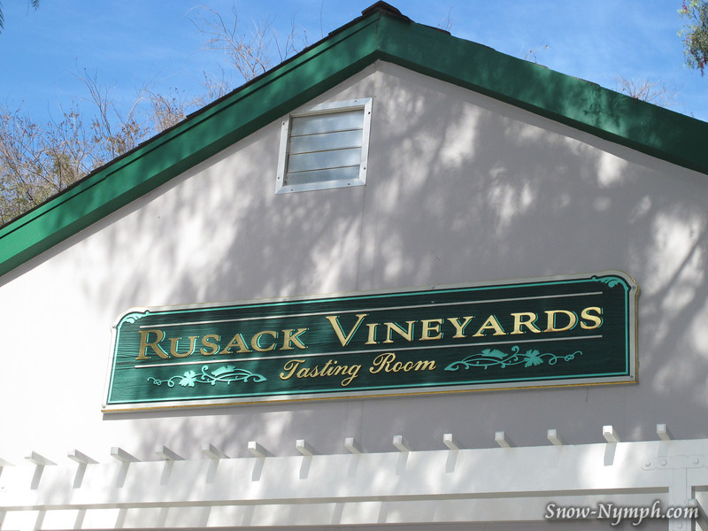 First stop: Rusack Vineyards