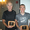 Solo winners! Overall Adam Bickett and 50+/60+ David Holt.