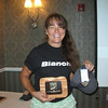 Womens and womens 50+ record holder Seana Hogan