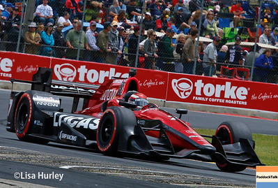June 24-25: Mikhail Aleshin at the Kohler Grand Prix of Road America.
