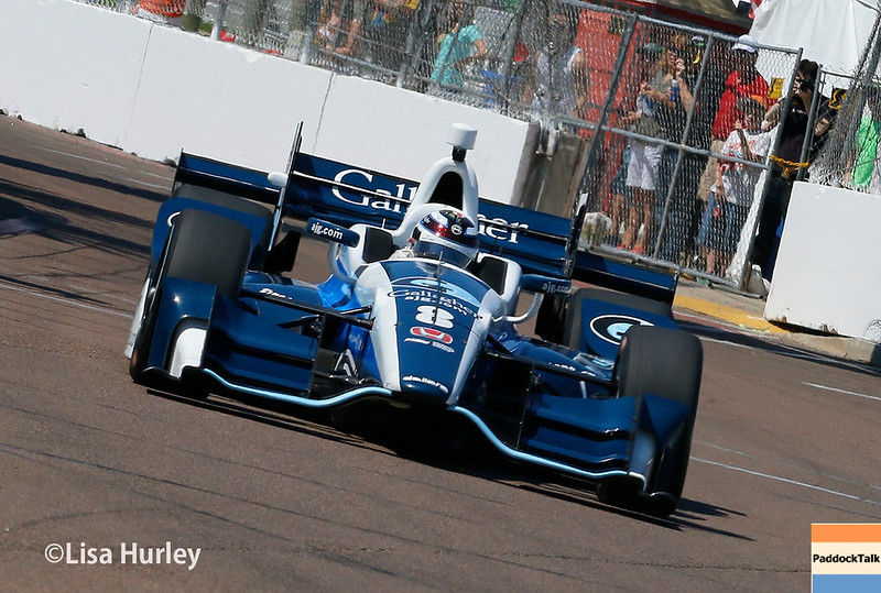 March 10-12: Max Chilton at the Firestone Grand Prix of St. Petersburg.
