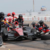 March 10-12: Mikhail Aleshin pit stop at the Firestone Grand Prix of St. Petersburg.