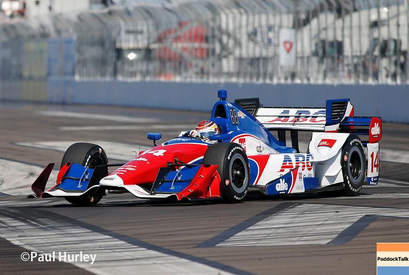 March 10-12: Carlos Munoz at the Firestone Grand Prix of St. Petersburg.