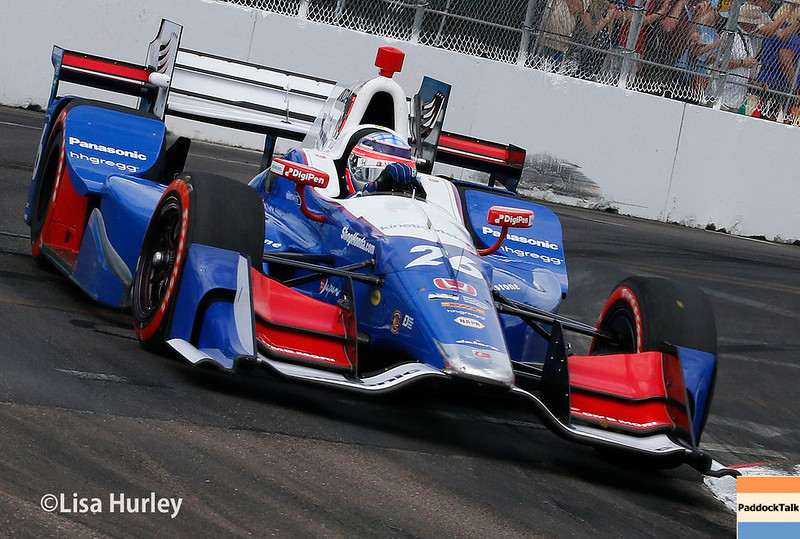March 10-12: Takuma Sato at the Firestone Grand Prix of St. Petersburg.
