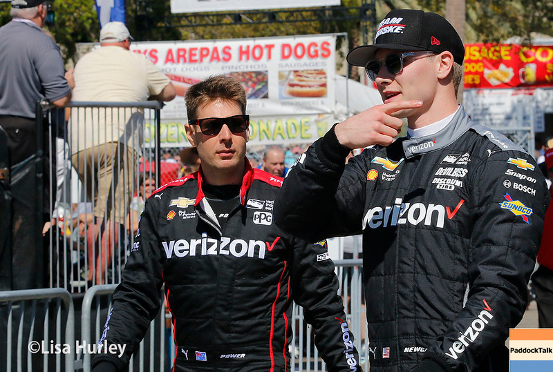 March 10-12:  Will Power and Josef Newgarden at the Firestone Grand Prix of St. Petersburg.