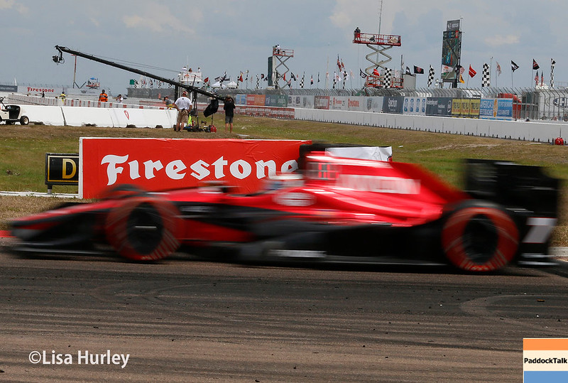 March 10-12: Mikhail Aleshin at the Firestone Grand Prix of St. Petersburg.