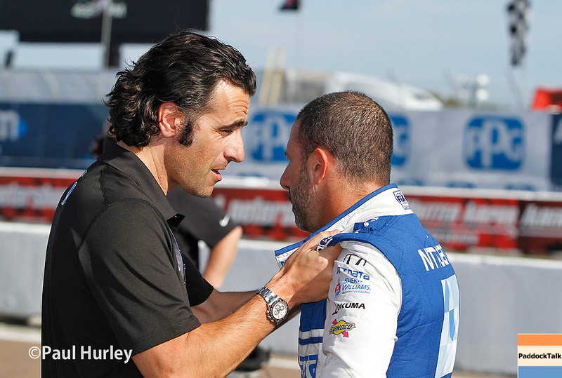 March 10-12: Dario Franchitti and Tony Kanaan at the Firestone Grand Prix of St. Petersburg.