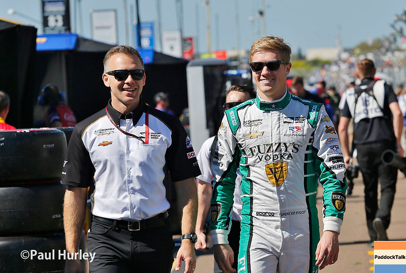 March 10-12: Ed Carpenter and Spencer Pigot at the Firestone Grand Prix of St. Petersburg.