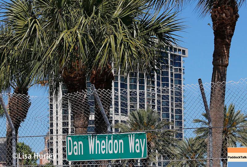 March 10-12:  Dan Wheldon Way at the Firestone Grand Prix of St. Petersburg.