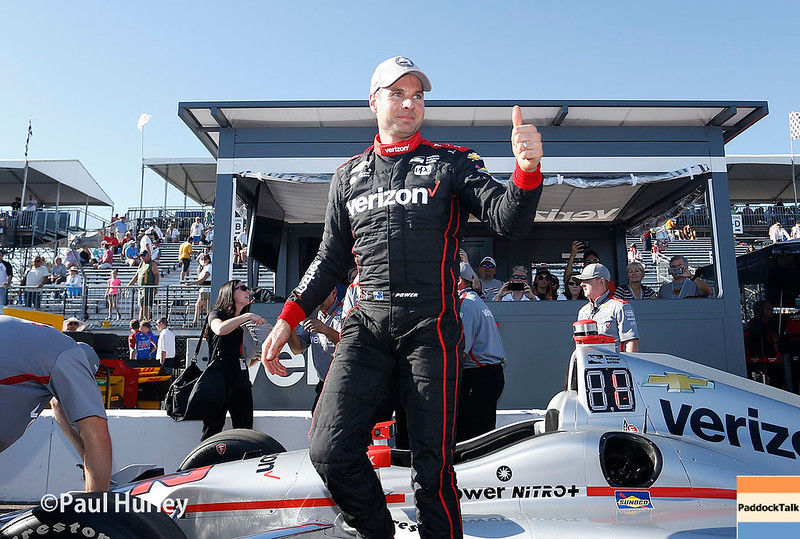 March 10-12: Pole winner, Will Power, at the Firestone Grand Prix of St. Petersburg.