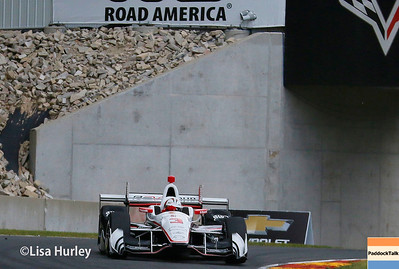 June 24-25: Helio Castroneves at the Kohler Grand Prix of Road America.