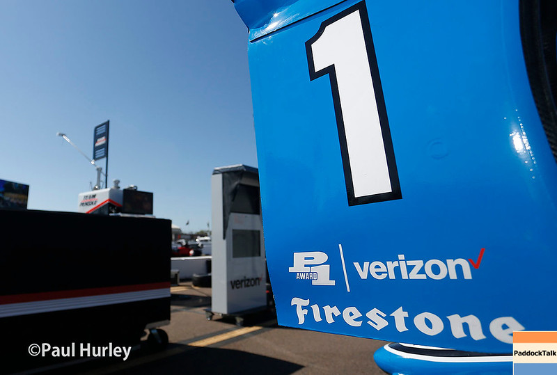 March 10-12: Simon Pagenaud's car at the Firestone Grand Prix of St. Petersburg.