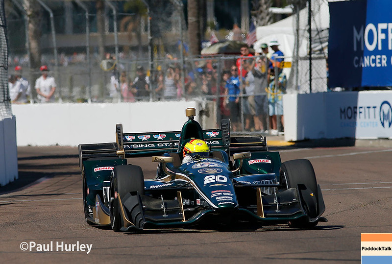 March 10-12: Spencer Pigot at the Firestone Grand Prix of St. Petersburg.