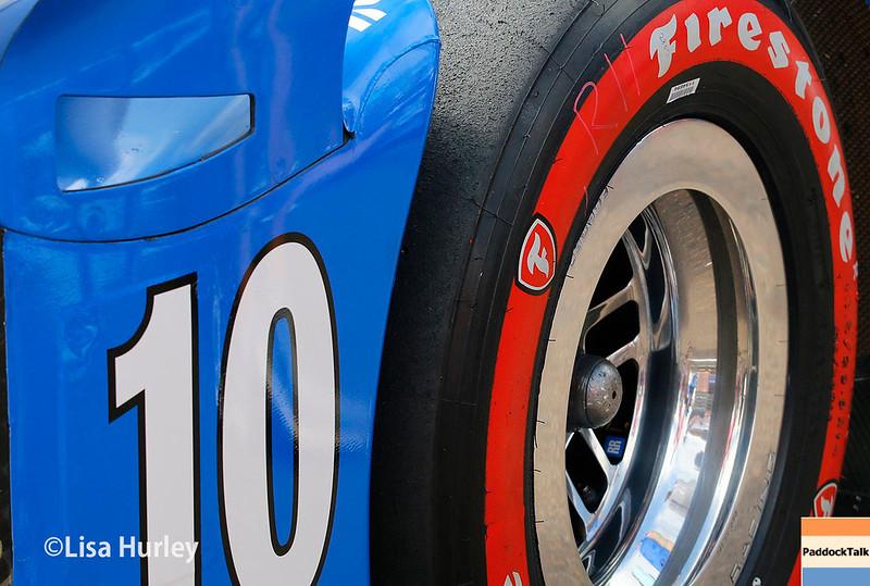 March 10-12:  Tony Kanaan's car at the Firestone Grand Prix of St. Petersburg.