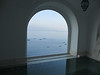 View from our bathroom spa tub/mini pool -- Positano