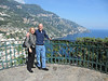 Arriving in Positano