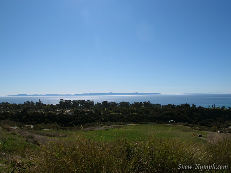 Channel Islands from Elings Park, before we left Santa Barbara
