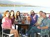 July 16, 2014  Celebrating with Wine tasting at Deep Sea - Sandee, Laurie, Cori, Scott, Dan, Paul
