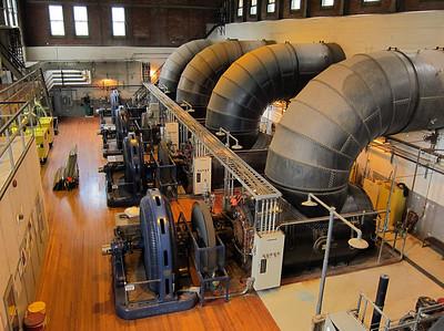 Hydro power plant in Essex Junction, Vermont.