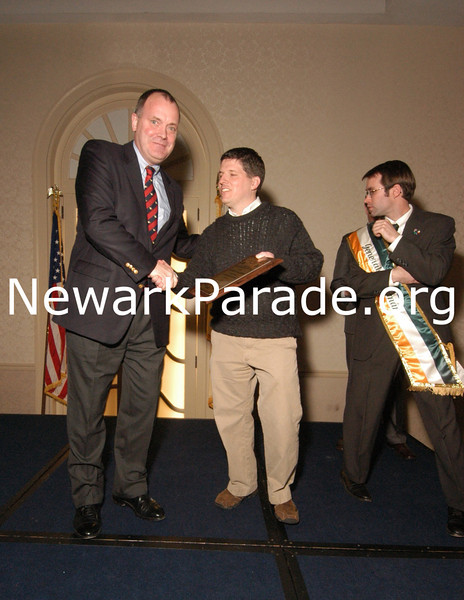 Newark St Patrick's Day Parade Committee Cocktail Party and awards at the Robert Treat Hotel, Newark, NJ,  prior to the NJPAC Chieftain's Concert