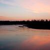 Dawn along Madison River, Yellowstone NP