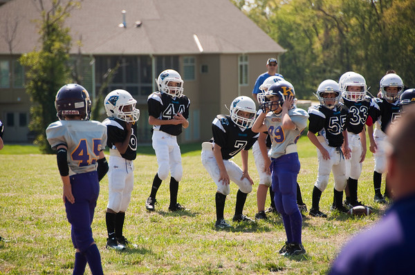 2012 Panthers Pop Warner Football