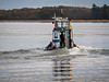 "Tugboat ""Timberland II"" on the Fraser River in Steveston."