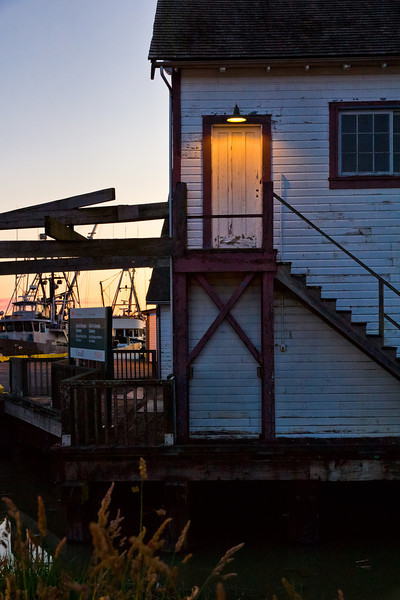 The other side of the Gulf of Georgia Cannery.