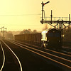 66021 is seen slogging up grade with 6K25 1440 Santon O.B.P. - Immingham F.O.T. empty Iron Ore service (22 jan 2012)