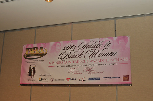 2012 Salute to Black Women Business Conference & Awards Luncheon