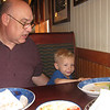 Red Lobster with Grandpa.