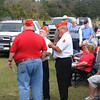 A huge crowd turned out Monday morning, Nov. 12 at Live Oak Cemetery for a Veterans Day ceremony hosted by the American Legion Post 107 and Disabled American Veterans Chapter 126.