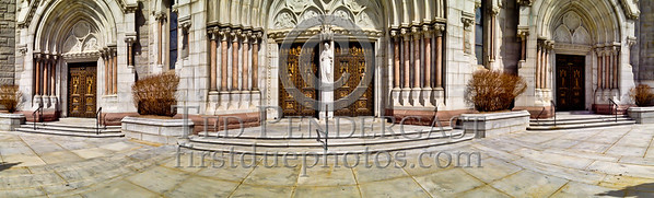 Panorama of Cathederal Basilica in HDR - Newark NJ