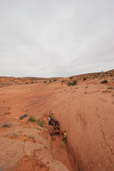 And the top end of Spooky Gulch