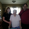 Candice, Marjorie, and Tom at the assisted living facility at Desert Stream Asissted Living, 1065 W. Amanda Lane, Tempe, AZ 85284, 480 940-5288