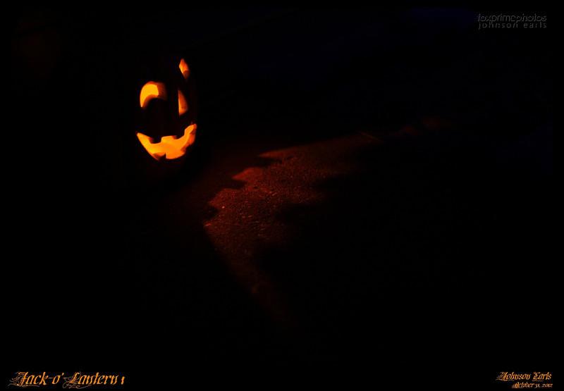 Jack-o'-Lantern 1<br /> <br /> Hallowe'en 2012