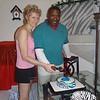 20120818 Wedding cake with nieghbors :